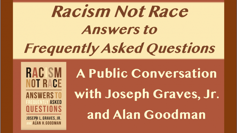 Racism Not Race, Graves and Goodman